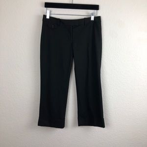 The Limited Drew Fit Black Ankle Dress Pants 0